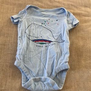 Gap blue whale onesie